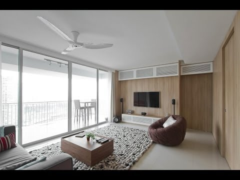 Architect's Home in Singapore  Natura Loft Apartment  part 1 [HD]