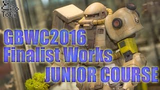 GBWC 2016 World Championship Finalist Works [JUNIOR COURSE] ガンプラワールドカップ 検索動画 25