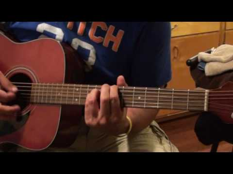 Katy Perry Thinking of You guitar