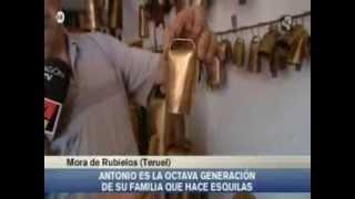 El arte de fabricar cencerros desde Mora de Rubielos