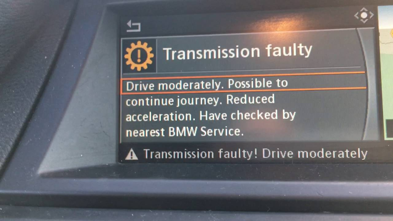 BMW X6 Individual Gearbox Fault