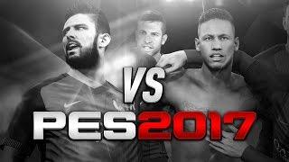 Геймплей финальной версии PES 2017