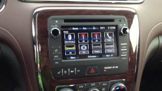 2013 Buick Enclave Interior Enhancements