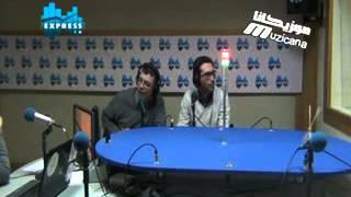 passage muzicana tv sur radio express fm 2 fevrier 2014