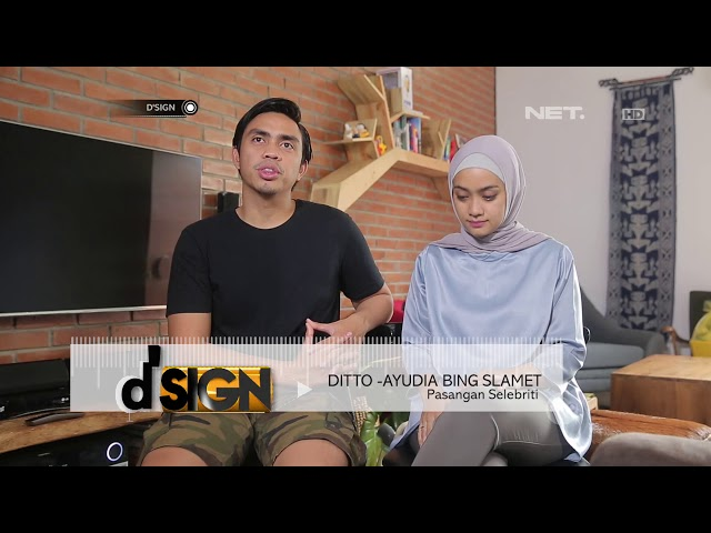 D'SIGN - Walk Around In The House Ayudia Bing Slamet And Ditto
