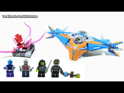 Lego Guardians of the Galaxy Vol 2 76081 The Milano vs The Abilisk Review