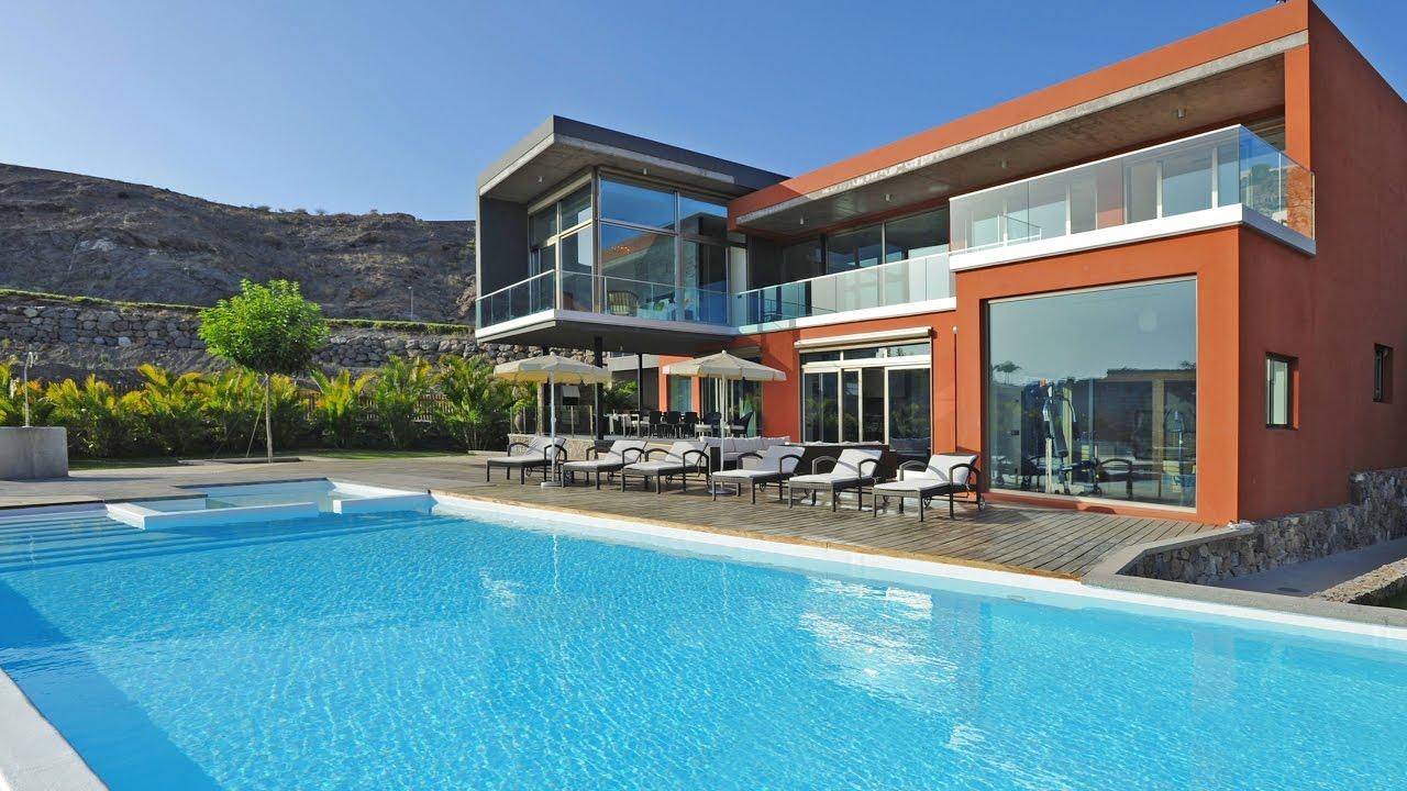 Luxury villa in gran canaria villa la calma youtube for Villas en gran canaria