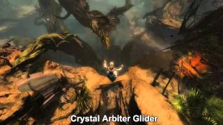 GW2 Glider Skins at Heart of Thorns Release