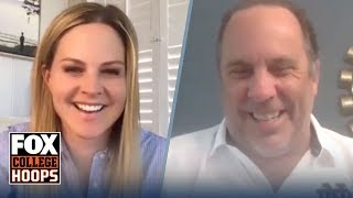 Notre Dame's Mike Brey on Quarantine life goes 1 Up 1 Down with Shannon Spake | FOX COLLEGE HOOPS