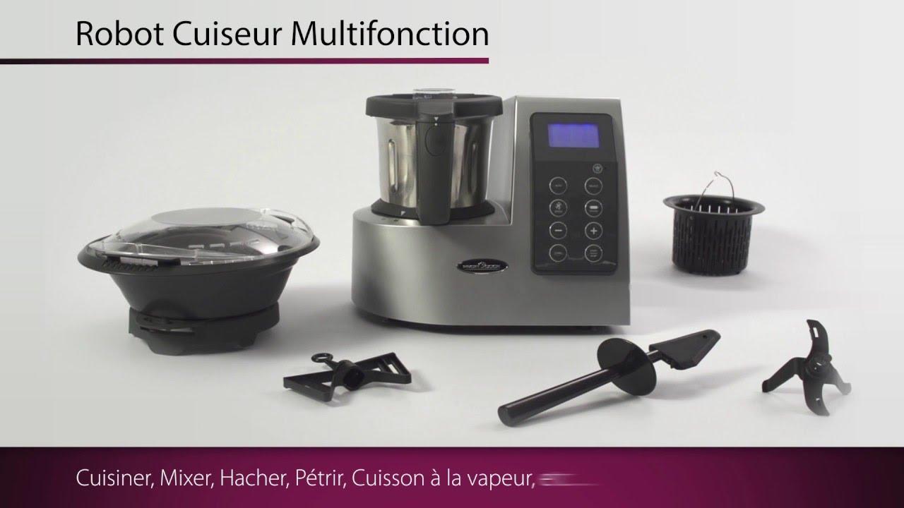 robot cuiseur culinaire multifonction profilcook® - youtube