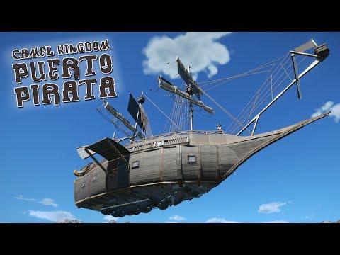 Puerto Pirata - The Ship (Planet Coaster Camel Kingdom)