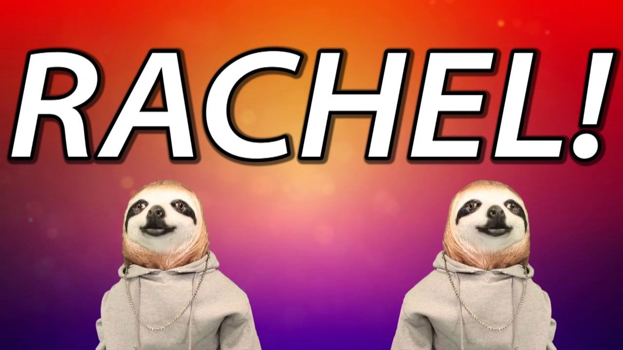 Happy Birthday Rachel Sloth Happy Birthday Rap Youtube