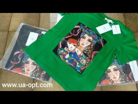 thumbnail video Женские футболки оптом Lulua, Fashion 4,9 €/шт. лот #48