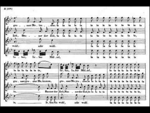 Ta ta ta    lieber Matzel, Beethoven  Anton Schindler WoO 162