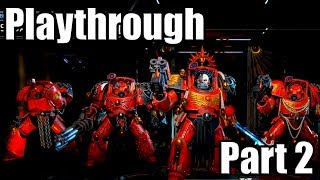 SPACE HULK: TACTICS [PS4 PRO] Gameplay Walkthrough Part 2 (Blood Angels Campaign) | No Commentary