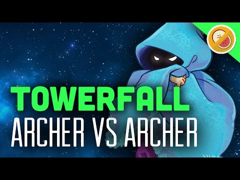 ARCHER VS ARCHER : Towerfall Ascension Funny Moments #1