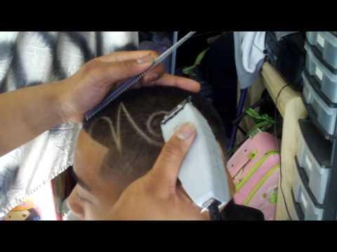 caken design barber technique part