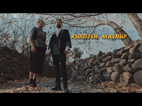KURDISH MASHUP   - Ari Jan Feat Rasha Bilal | (Official Music Video / CC) - رشا بلال  X آري جان -