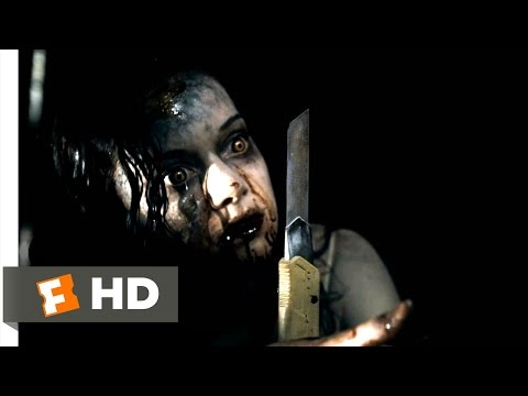 Evil Dead (6/10) Movie CLIP - Bloody Kiss (2013) HD