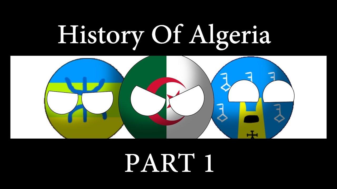 History of Algeria ( 900BC - 1152 ) in countryballs - تاريخ الجزائر (من ما قبل التاريخ إلى الموحدين)