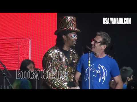 Lennon Bus Imagine Party - Bootsy Collins Funk-Off -  NAMM 2018 - musicUcansee.com
