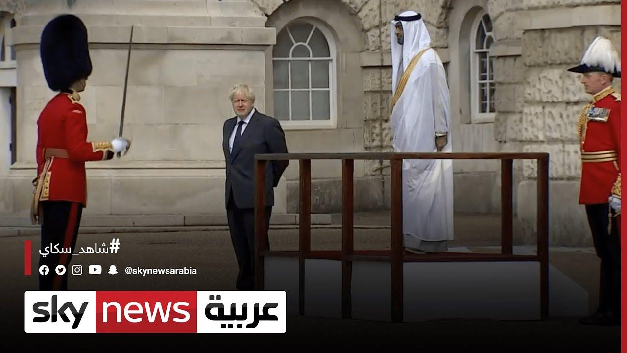 مباحثات بين ولي عهد أبوظبي ورئيس الوزراء البريطاني  - نشر قبل 2 ساعة