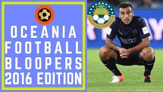 Video OCEANIA FOOTBALL BLOOPERS: 2015/16 - FAILS FROM THE PACIFIC - SOCCER!!! download MP3, 3GP, MP4, WEBM, AVI, FLV Desember 2017