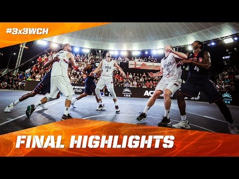 Serbia v USA - Men's Final Highlights - 2016 FIBA 3x3 World Championships