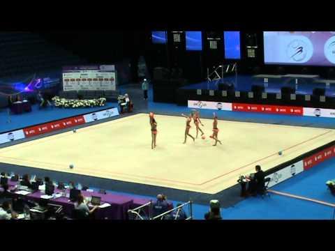 Czech Republic, 5 balls. Group junior, AA. ECh Minsk'15