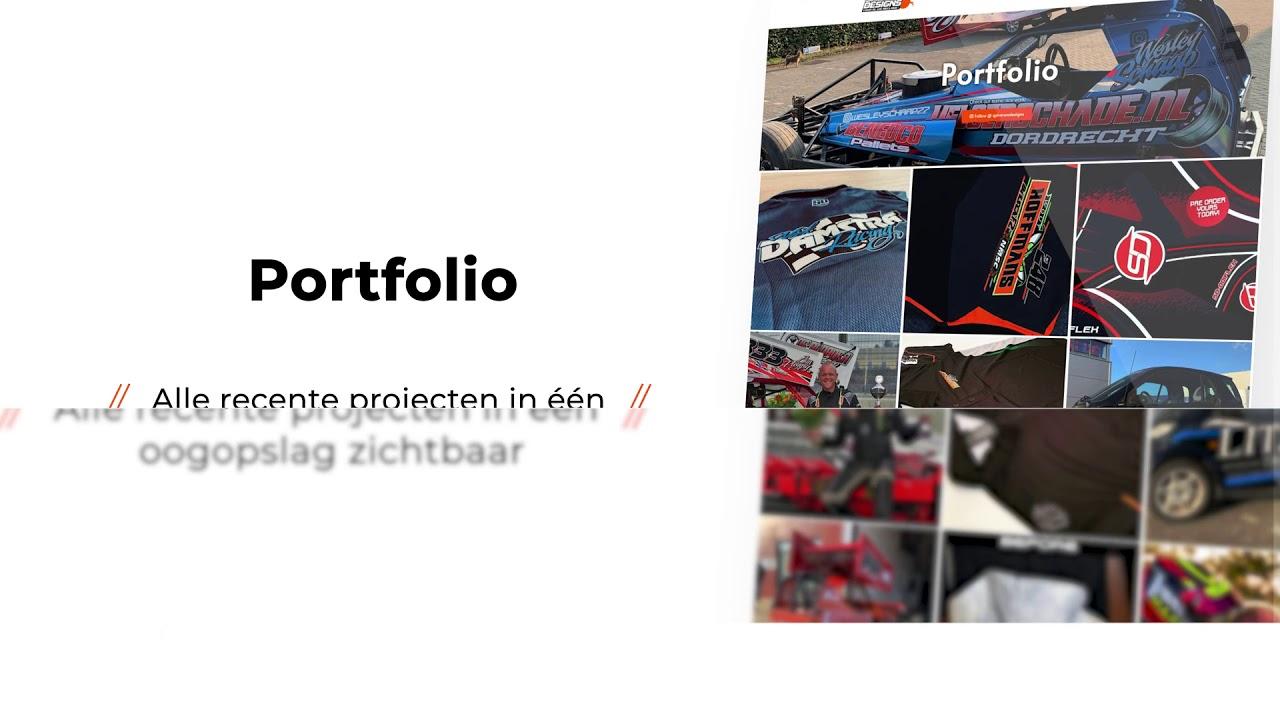 Webdesign voor SpiveronDesigns