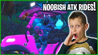 WHEN NOOB DRIVES AN ATK ALL BY HIMSELF!