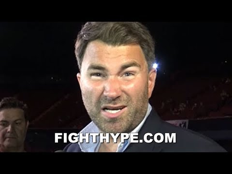 "(WOW!) EDDIE HEARN GOES OFF ON LUIS ORTIZ & ""SH*T SCARED"" JOSHUA CHALLENGERS; JUNE 1 OPPONENT UPDATE"
