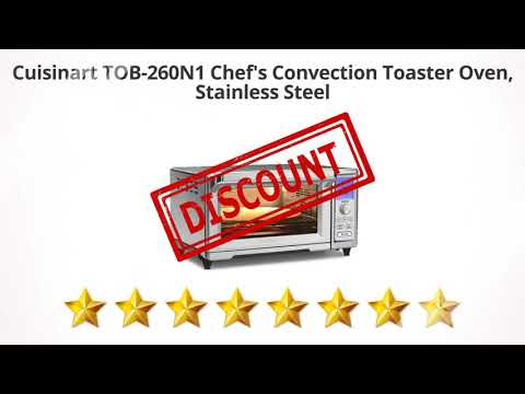 Cuisinart TOB-260N1 Chef's Convection Toaster Oven,  Stainless Steel  | Review and Discount