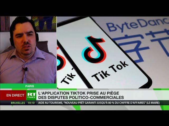 TikTok, outil d'espionnage ? «L'application appartenant aux Chinois, c'est l'ennemi facile»