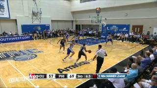 Jahii Carson Full SL Highlights 2014.07.08 vs 76ers - 18 Pts