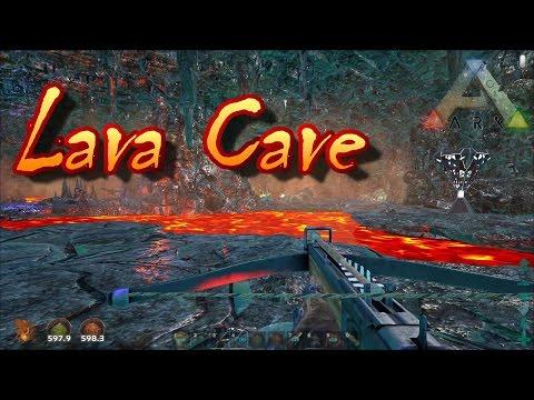 Ark Survival Evolved Lava Cave with Tigersine!