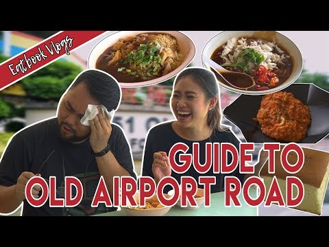 GUIDE TO OLD AIRPORT ROAD | Eatbook Vlogs | Ep 53