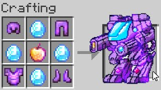 Minecraft UHC but you can craft a 'Netherite Robot'..