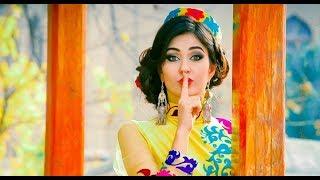 Таджикская модель Парвина Саидова показала свадебное платье  2017