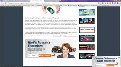 Car Insurance Quotes Compared Online - Progressive Vs State Farm