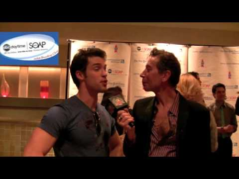 Gaylifenyc.org interviews Soap Star Hottie David Gregory for Broadway Cares