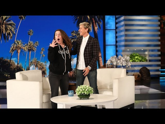 Ellen Shocks Jeannie With a Huge Surprise