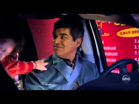 George Lopez orders fast food