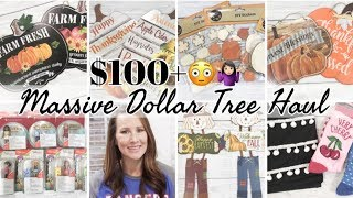 DOLLAR TREE HAUL  | NEW DOLLAR STORE FINDS | FALL 2019 DOLLAR STORE  HAUL