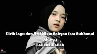 [4.64 MB] Lagu terbaru Nissa Sabyan feat SBY