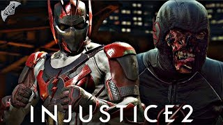 Injustice 2 Online - EPIC BLACK FLASH LOADOUT!