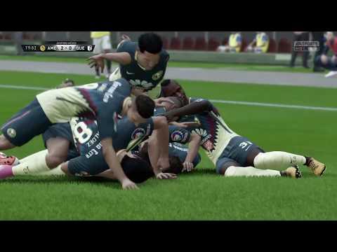 América vs Querétaro Fifa 18 modo carrera