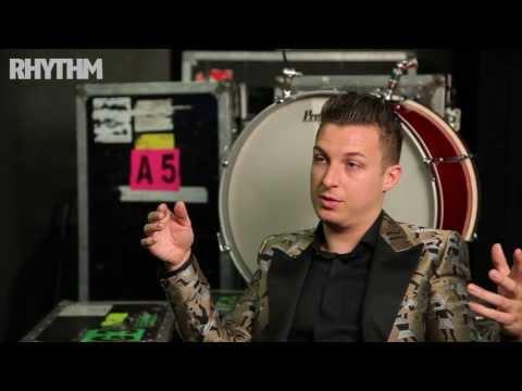 Arctic Monkeys drummer Matt Helders talks about his Premier and Zildjian set-up