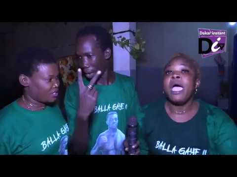 Chez Balla Gaye 2 après la victoire. Vivez l'ambiance