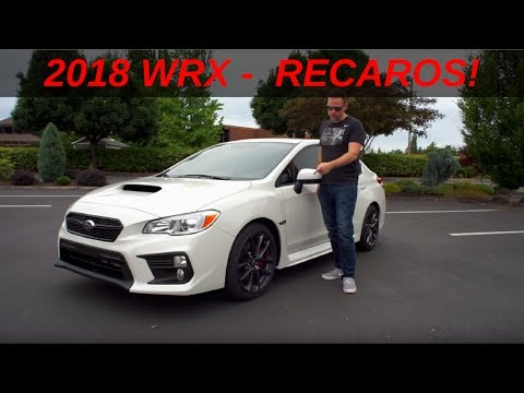 Review - 2018 WRX Premium Performance Package | Recaros + What's new?